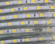 Светодиодная лента SMD 3014 (120 LED/m) IP67 220В