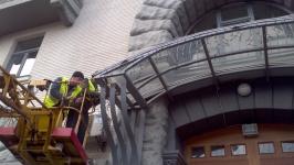Оформление административного здания 2012, г. Киев