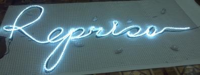 Дюралайт светодиодный LED 4-полюсный белый