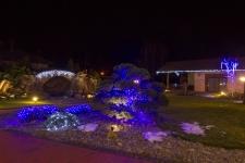 Эксклюзивное оформление дома, территории и деревьев - Романков, 2014