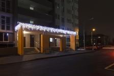 Иллюминация жилого комплекса «Лидер», Интергал-Буд