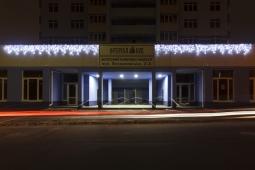 Иллюминация жилого комплекса «Малахит», Интергал-Буд