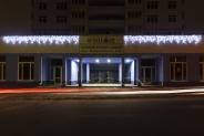 Иллюминация жилого комплекса «Малахит», Интергал-Буд, 2015