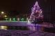 Иллюминация загородного дома Новоселки Киев