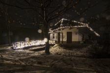 Эксклюзивная иллюминация загородного дома - Козин, 2015