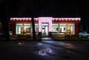 Иллюминация отдела продаж ЖК «Буча квартал», Будрегионинвест, 2015