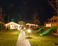 Иллюминация входной группы, летней террасы, сауны и навеса для частного дома - Киев