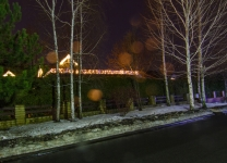 Иллюминация частного дома и елки - Козин, Киев