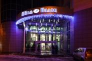 Иллюминация входной группы Бизнес-центра Mikom Palace, Киев