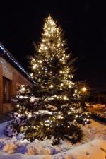 Новогоднее оформление дома и елки - Романков, 2015