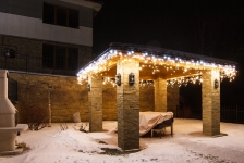Иллюминация загородного дома - Иванковичи