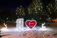 Эксклюзивная иллюминация ЖК Озерный Гай, Гатное, 2016