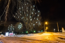 Гирлянда BRIGHTLED SNOWFALL SET комплект 10 штук по 50см (снегопад) LED белый