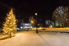 Гирлянда BRIGHTLED SNOWFALL SET GOLD комплект 10 штук по 50см (снегопад) LED золотой