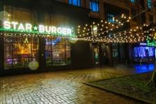 Освітлення ресторану STAR BURGER, Київ