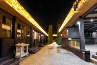 Праздничная иллюминация ресторана