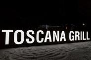 "Иллюминация ресторана ""Toscana Grill"", г.Буча, 2015"