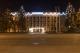 Новогоднее оформление Днепровской администрации Киева