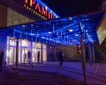 ТЦ ПИРАМИДА: новогодняя иллюминация фасада и входной группы , Киев