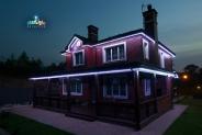 Контурна піксельна ілюмінацію будинку, BRIGHTLED STARLIGHT