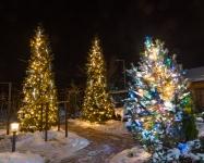Гирлянда BRIGHTLED SNOWFALL SET комплект 10 штук по 30см (снегопад) LED белый