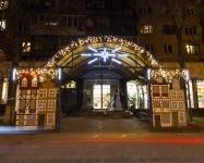 Иллюминация супермаркета цветов и декора Ваза, Киев