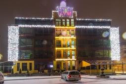 Иллюминация детского центра Чуби-Бум, Ивано-Франковск