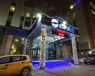 Иллюминация входной группы МЦ EUROLAB, Киев