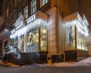 Иллюминация ресторана Frankie, Киев