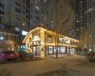 Иллюминация ресторана Lviv Croissants, Осокорки Киев