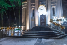 Иллюминация православного Храма