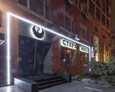 Контуре освітлення фасаду салону СТЕРХ, Київ