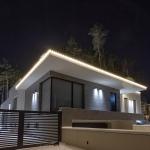 Контурная пиксельная подсветка дома Белгравия, BRIGHTLED STARLIGHT