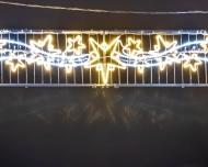 Световые конструкции панно и перетяжки