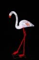 Световая акриловая фигура 3D «Фламинго белый» 130 см