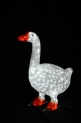 Световая акриловая фигура 3D «Гусь» 68 см