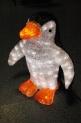 Световая акриловая фигура 3D «Пингвин» 48 см