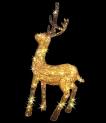 Олень Золотой стоит 140см