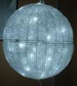 3D LED Ball Acrylic куля 40 см білий