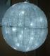3D LED Ball Acrylic шар 40 см белый