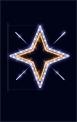 Световая конструкция Звезда ST-7