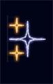 Световая конструкция Звезды ST-2