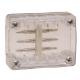 Коннектор для дюралайта LED 3-х полюсного