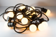 Гирлянда String E27 BELT LIGHT LIGHT 6м (Белт лайт нить Е27) - 15 ламп, цоколь Е27