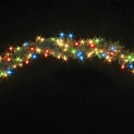 Гирлянда Pine 3м (Обмоточная) 200 ламп - мульти, кабель - зеленый