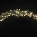 Гирлянда Pine 3м (Обмоточная) 200 ламп - белая, кабель - зеленый