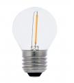 Світлодіодна лампа Filament 1W G45 E27 (ретро лампа)