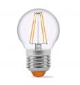 Світлодіодна лампа Filament 4W G45 E27 (ретро лампа)