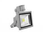 Світлодіодний прожектор 10W 220V IP65 c датчиком руху
