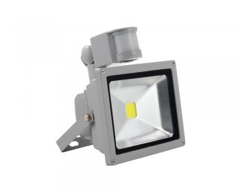 Светодиодный прожектор 10W 220V IP65 c датчиком движения